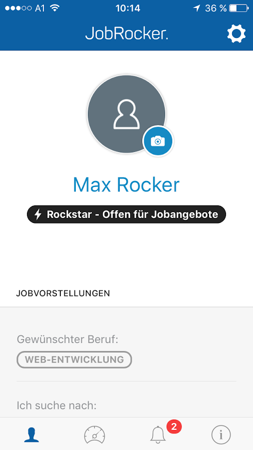 JobRocker- screenshot