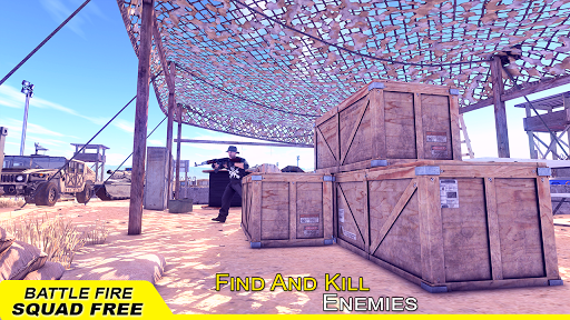 Battle Fire Squad Free Survival: Battleground Game android2mod screenshots 4