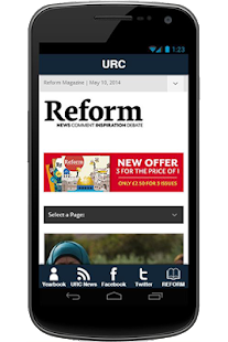 URC Media App- screenshot thumbnail