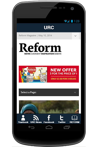 URC Media App- screenshot