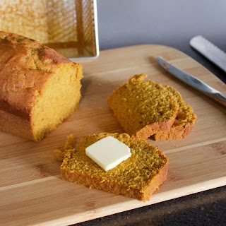 Pumpkin Bread with Lemon Zest