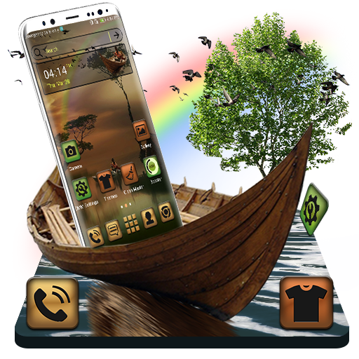 Nature Landscape Launcher Theme Android APK Download Free By Studio Five Inc