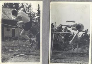 Photo: 1954 Korkeushyppy