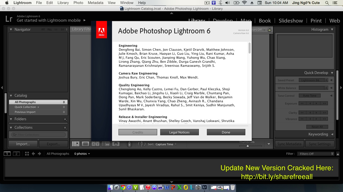 adobe photoshop lightroom 6.1 cc 2015 + crack mac osx