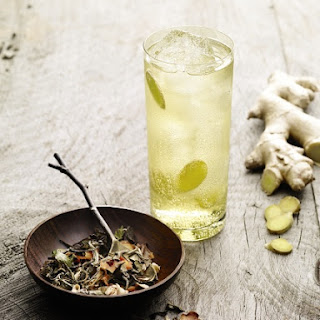 White Mule Cocktail Recipe With White Tea and Lemongrass.
