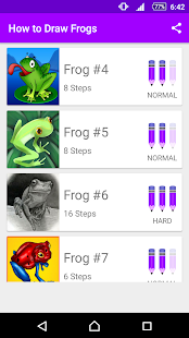 Learn How to Draw Frogs - náhled