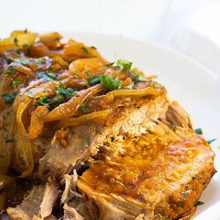 Crock Pot Apricot Pork Roast Recipe
