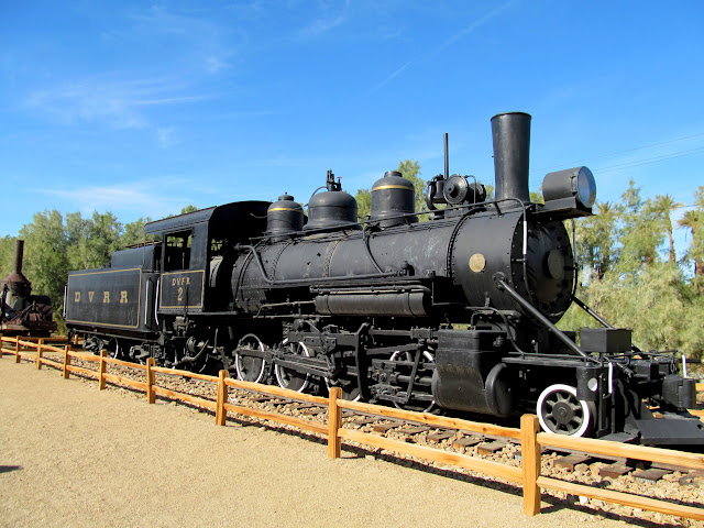Death Valley Railroad engine number 2