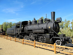 Photo: Death Valley Railroad engine number 2