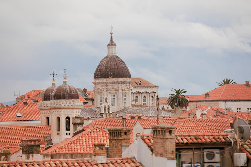 Dubrovnik-towers-&-rooftops.jpg - Dubrovnik's striking cityscape dates to the Middle Ages.