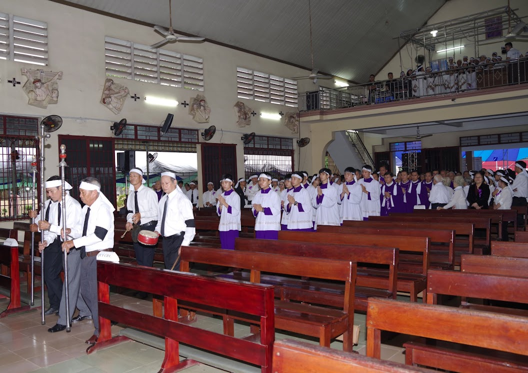 Thánh lễ an táng Cha Giuse Trần Ngọc Tâm - Chánh xứ Xuân Đức - Ảnh minh hoạ 9