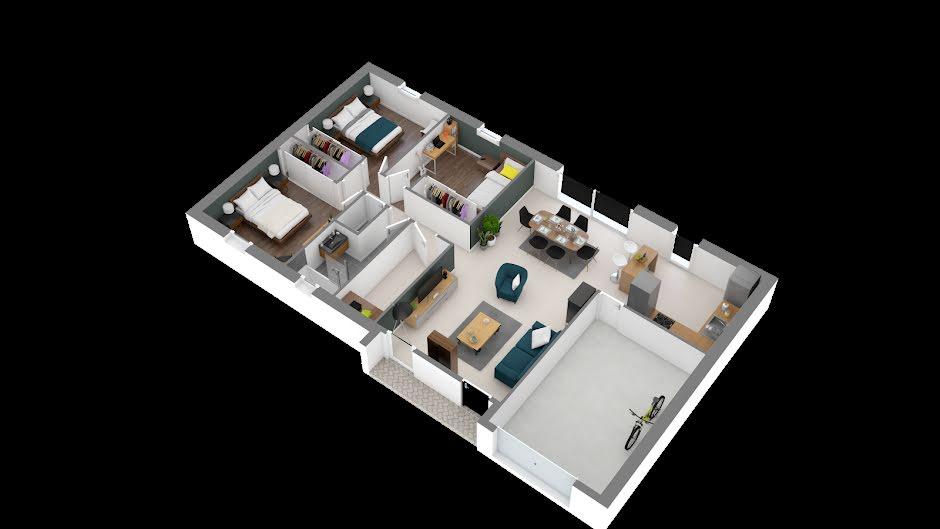 Vente maison 4 pièces 89 m² à Loupiac (33410), 224 594 €