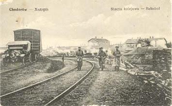 Photo: Stacja kolejowa w Chodorowie