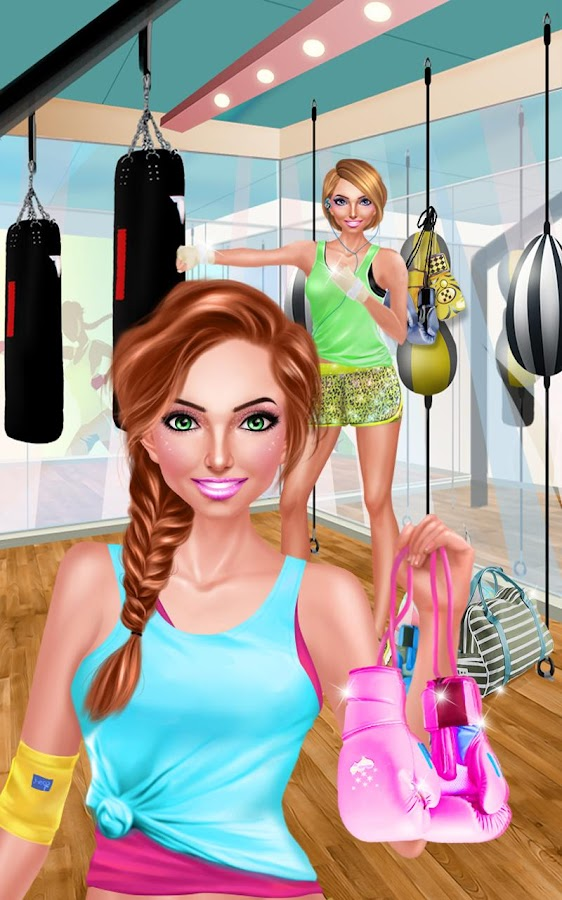 Gym girl fitness beauty salon android apps on google play for Salon fitness