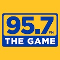 95.7 The GAME icon