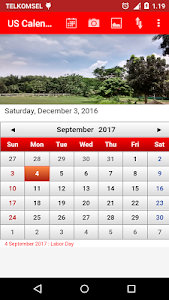 US Calendar screenshot 3