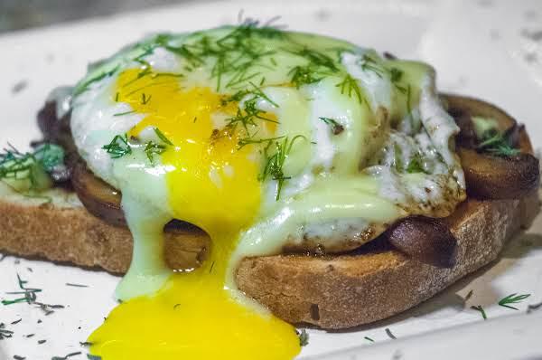 Breakfast Essentials: Mushrooms & Eggs On Toast Recipe