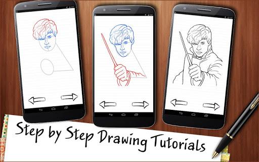 Draw Fantastic Beasts