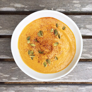 Chipotle-spiced Sweet Potato Soup (vegan)
