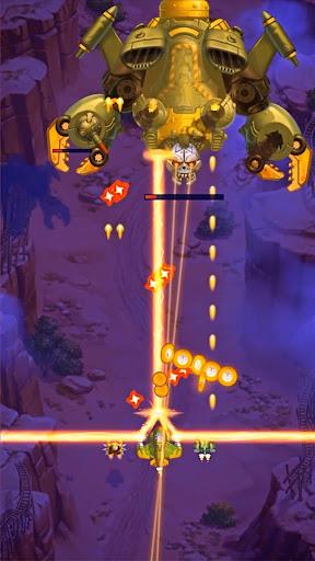 HAWK: Weltraum schießspiele. Flugzeug Schlachten screenshot 7