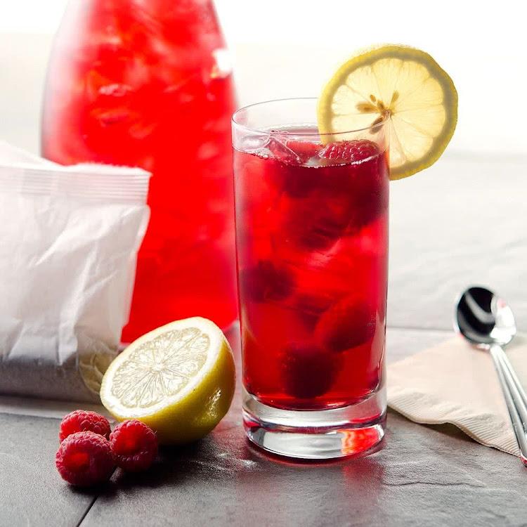 Logo for Raspberry Iced Tea