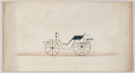 Design for Drop Front Phaeton (unnumbered)