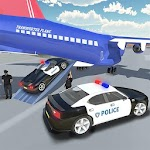 Police Plane Transporter Simulator 2017 Icon
