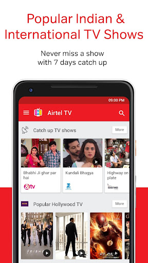 Airtel TV: Movies, TV series, Live TV 1.5.5.4 screenshots 2
