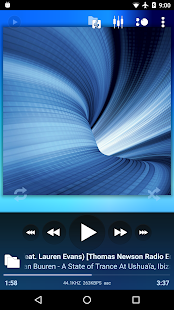 Poweramp – Miniaturansicht des Screenshots