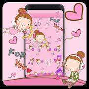 App Angel Cartoon Theme APK for Windows Phone