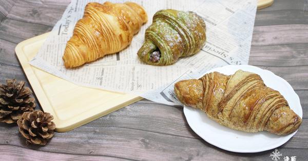 Gontran Cherrier Bakery~二訪再試原味、台灣茶、抹茶紅豆三種可頌