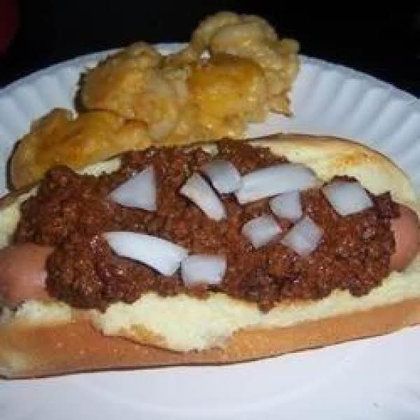 Fairmont, West Virginia Hot Dog Sauce Recipe