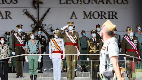 El Rey preside el acto del Centenario