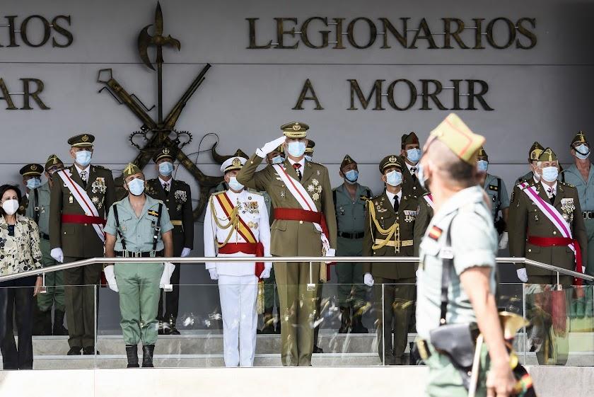 Las mejores imágenes del Centenario de la Legión