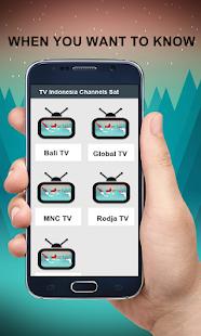 TV kanály Indonésie - náhled