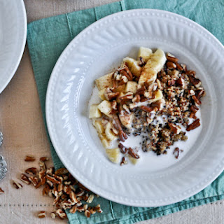 Coconut Milk Breakfast Quinoa.