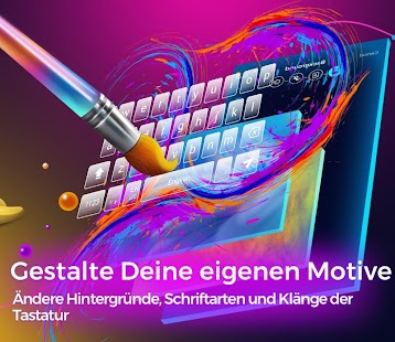 Cheetah Keyboard-GIF, Emoji-Tastatur und 3D-Motive Screenshot