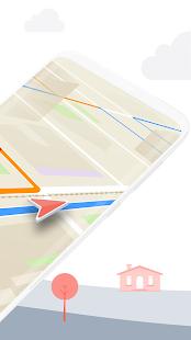 Karta GPS – navigace off-line - náhled