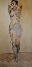 """Photo: """"SERA""""  anno 2013 60x120 olio, pastelli e carta su tela  collezione privata (Russia) © tutti i diritti riservati"""