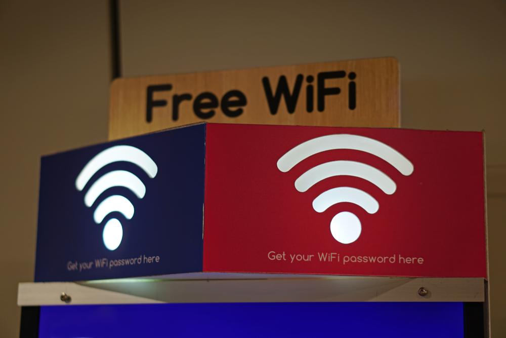 Wifi gratis banyak di Changi Airport