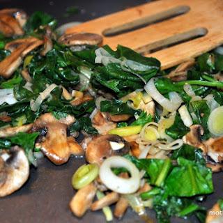 Stuff it! Mushroom and Spinach Stuffed Pork Chops.