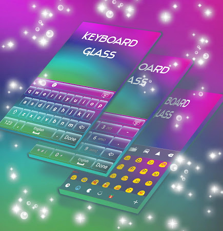 Glass Keyboard Theme 4.181.106.86 screenshot 1872204