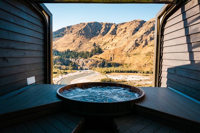 Onsen hot pools.