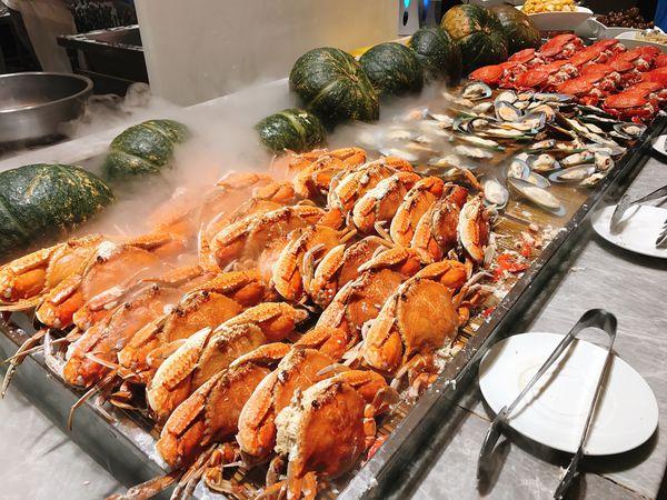 漢來海港餐廳。台北SOGO敦化店 海鮮BUFFET吃到飽