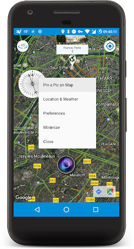 Pin a Pic on Map | Compass, Map & Camera screenshot 2