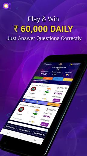 Qureka: Live Quiz Show & Brain Games | Win Cash  screenshots 2