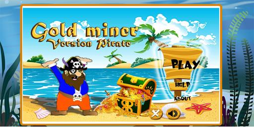 Gold Miner Pirate HD