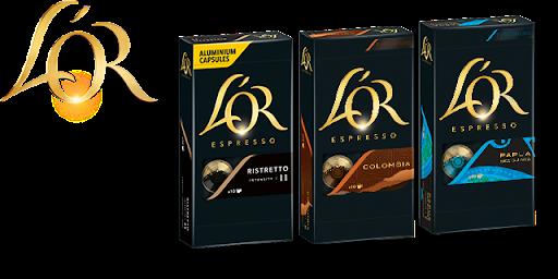 Bild für Cashback-Angebot: L'OR Aluminium Kapseln Espresso - L'Or