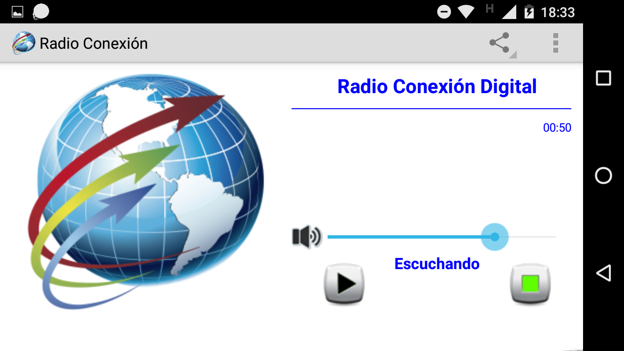 Radio Conexion Digital- screenshot