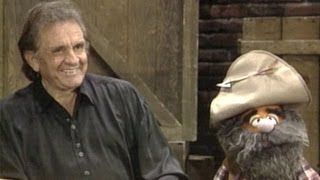 """Legendary Country Star Johnny Cash Sings a """"Tall Tale."""""""